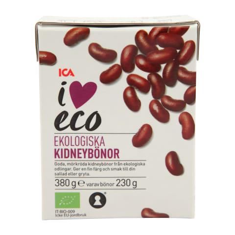 Raudonosios pupelės I LOVE ECO, 380g/230g