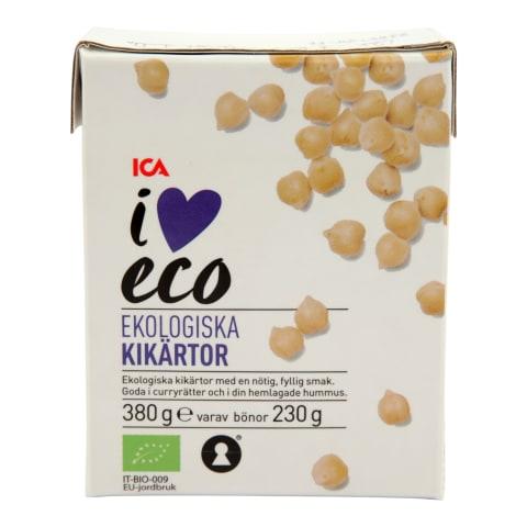 Avinžirniai I LOVE ECO, 380g/230g