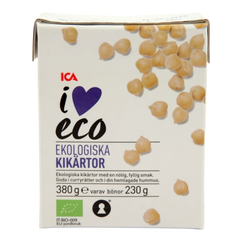 Turku zirņi I Love Eco 380g/230g