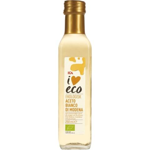 Modenos baltojo vyno actas I LOVE ECO, 250ml