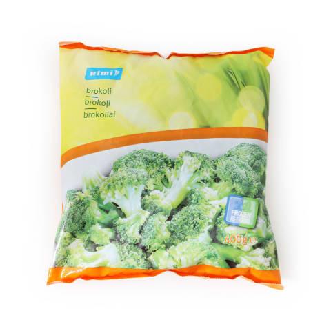 Greitai užšaldyti brokoliai RIMI, 400g