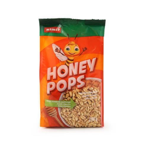Sausi pusryčiai RIMI HONEY POPS, 200g