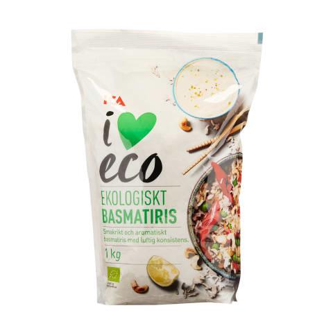 Basmatiriis I Love Eco 1kg