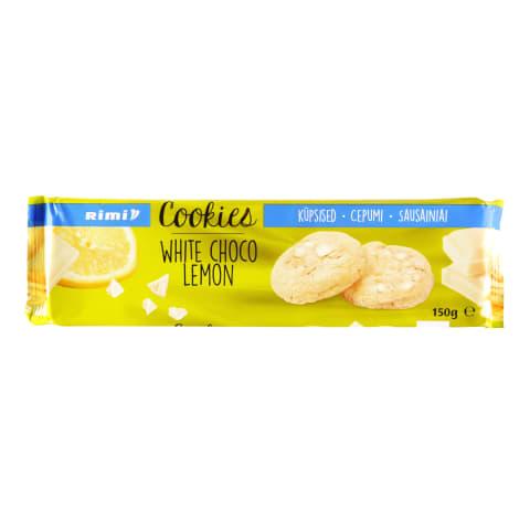 Küpsised valge šokolaadi-sidruni Rimi 150g