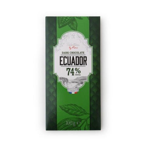 Tume šokolaad Ecuador Selection by Rimi 100g