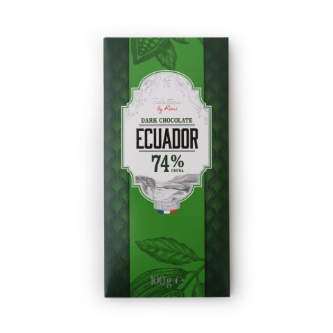 Šokolāde Selection by Rimi Ecuador 74% 100g