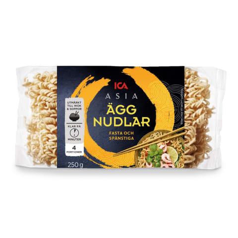 Kiaušininiai makaronai NOODLES ICA, 250 g