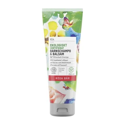Ekoloģisks šampūns-balzams bērniem ICA 250ml