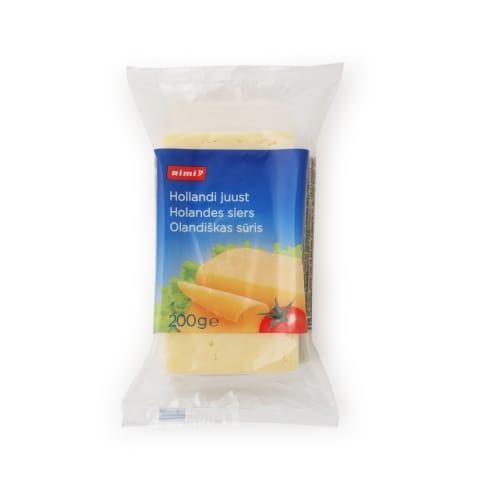 Olandiškas sūris RIMI, 45% rieb., 200g