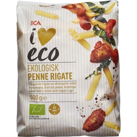 Makaronid Penne Rigate I Love Eco 500g