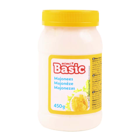 Majonezas RIMI BASIC, 18 % rieb., 450 g
