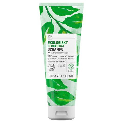 Šampoon ICA Hjartat Eko lõhnatu 250ml