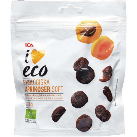 Žāvētas aprikozes I Love Eco 200g