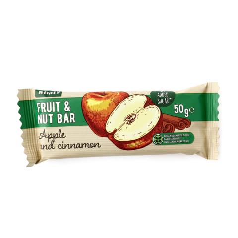 Puuvilja-pähklibatoon Rimi õunte ja kan. 50g