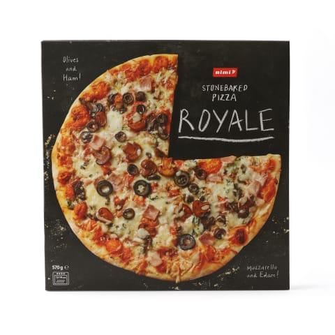 Šald. pica kump.sūr.piev., ROYALE RIMI, 570g