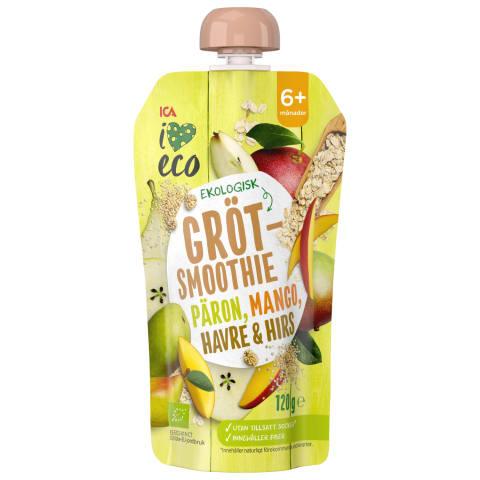 Püree I Love Eco pirn-mango 6k 120g
