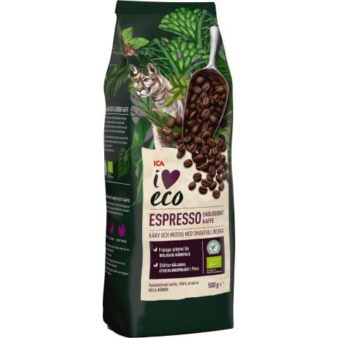 Kafijas pupiņas I Love Eco Espresso 500g