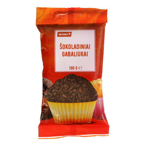 Šokoladiniai gabaliukai RIMI, 100g
