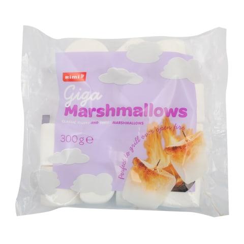 Zef. saldainiai RIMI MAXI MARSHMALLOWS, 300 g