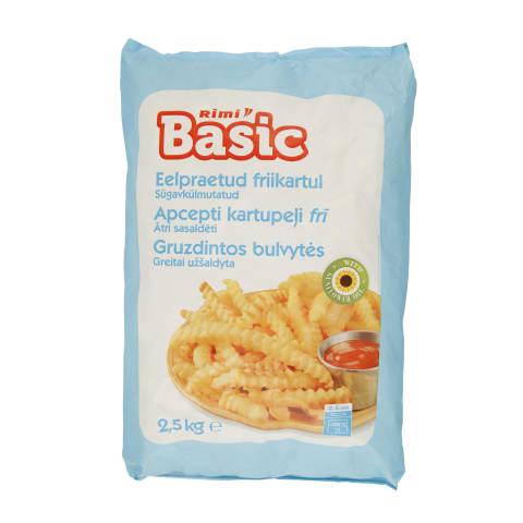 Fig.gruzd. bulvių lazdelės RIMI BASIC, 2,5kg