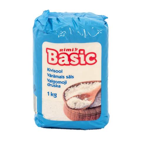 Vārāmais sāls Rimi Basic 1kg