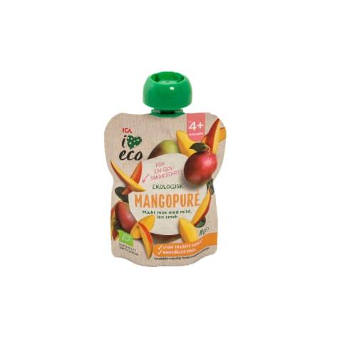 Püree I Love Eco mango 4 kuust+ 90 g