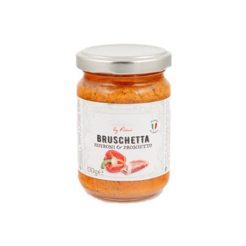 Bruschetta Selection ar papriku,šķiņķi 130g