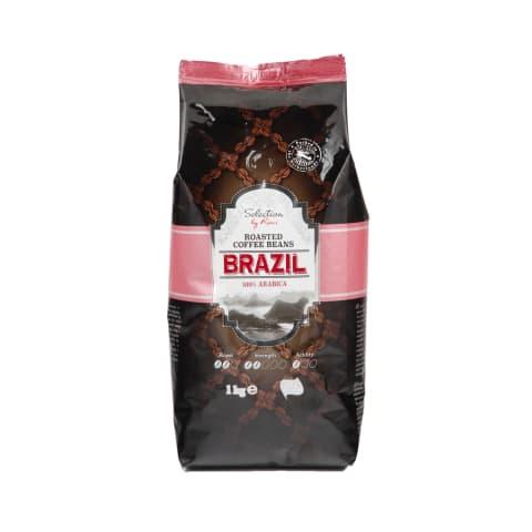 Kavos pupelės SELECTION BRAZIL, 1kg