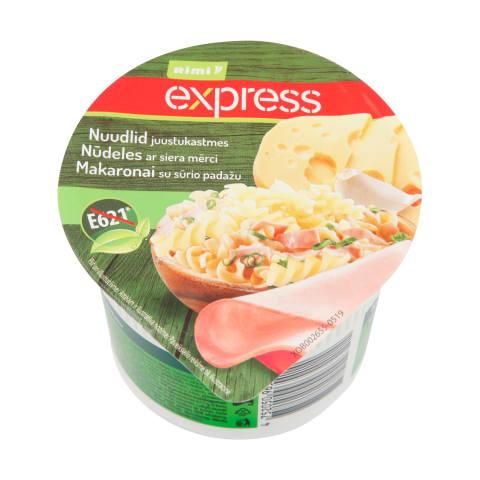 Nūdeles Rimi Express ar siera mērci 60g