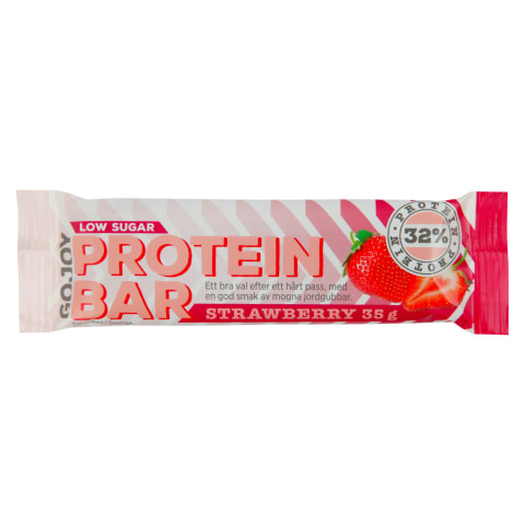 Proteīna batoniņš ICA ar zemenēm 35g