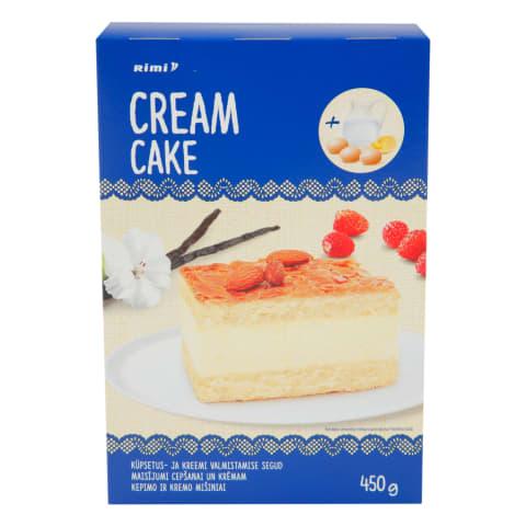 Miltu maisījums Rimi krēma kūka 450g
