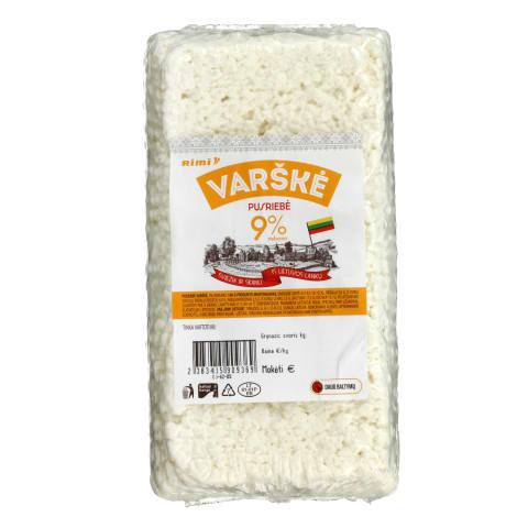 Varškė RIMI, 9 % rieb., 1 kg
