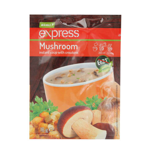 Grybų sriuba RIMI EXPRESS džiūvės.,16 g