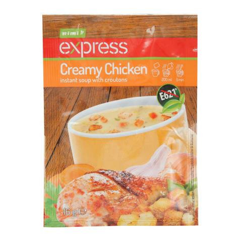 Tiršta vištienos sriuba RIMI EXPRESS, 16 g
