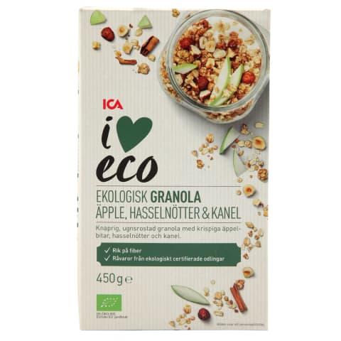 Granola I Love Eco ar āb.,lazd.r.,kanēli 450g