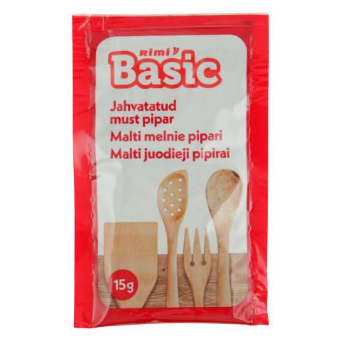 Malti melnie pipari Rimi Basic 15g