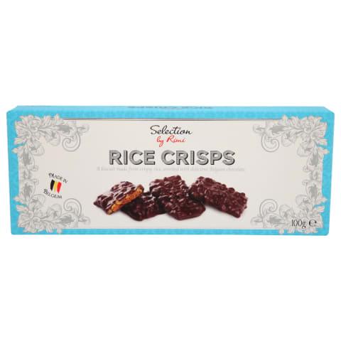 Cepumi Selection ar rīsu kraukšķiem 100g