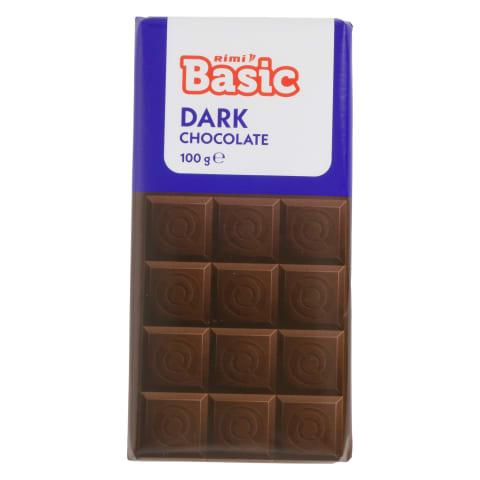 Tume šokolaad Rimi Basic 100g