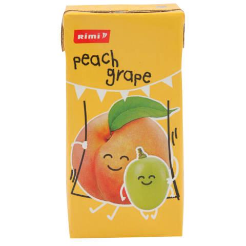 Sulu dzēriens Rimi persiku, vīnogu 200ml