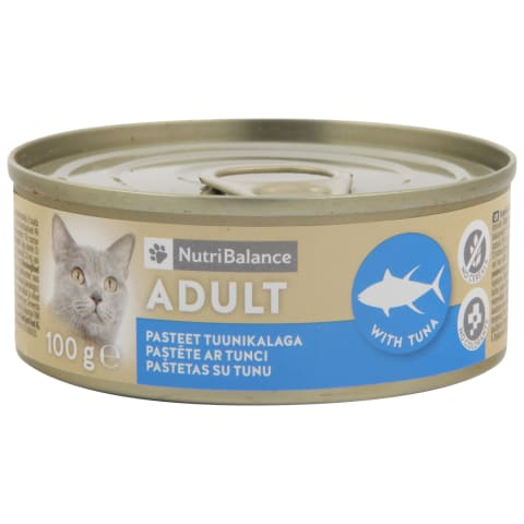 Kassisööt Nutribalance tuunikalaga 100g