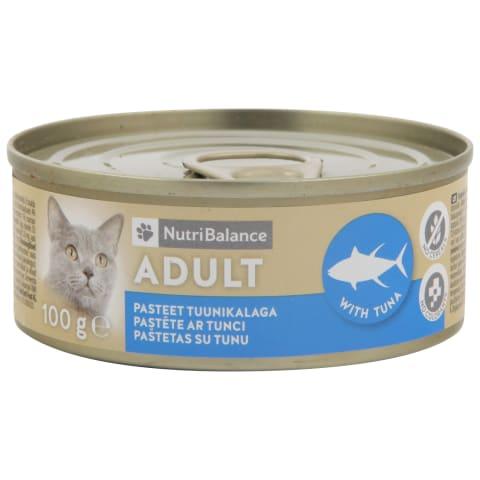 Kačių kons. NUTRIBALANCE su tunu, 100 g