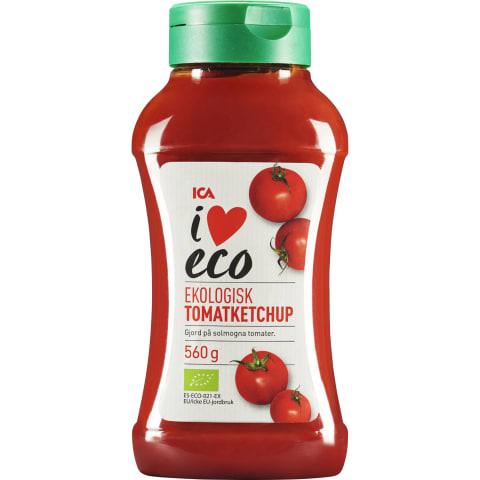 Pomidorų kečupas I LOVE ECO, 560 g