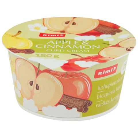 Biezp. krēms Rimi ar cep. āboliem,kanēli 150g
