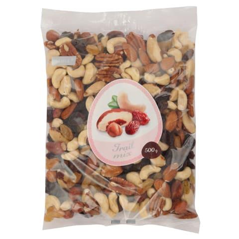 Vaisių ir riešutų mišinys TRAIL RIMI, 500 g