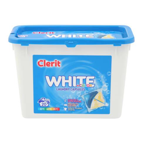 Veļas mazgāš.kapsulas Clerit Universal 20gab.
