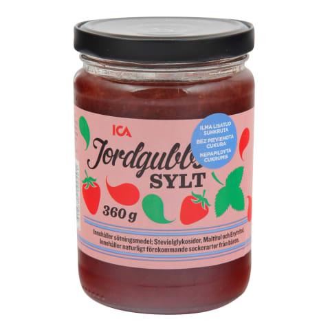 Maasikamoos ICA ilma lisatud suhkruta 360g