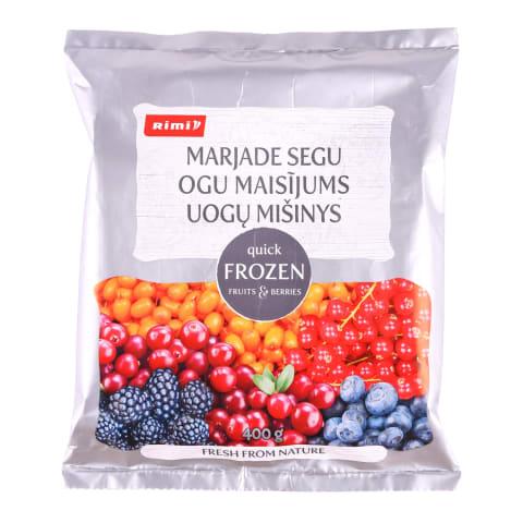 Ogu maisījums Rimi saldēts 400g