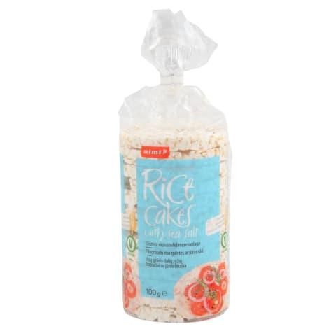 Rīsu galetes Rimi ar jūras sāli 100g