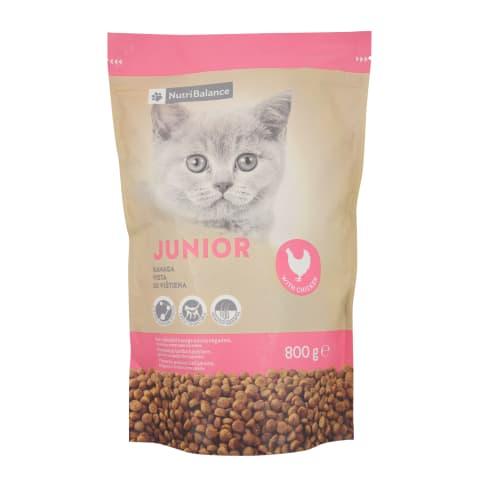 Kaķu barība Nutribalance Junior 0,8kg