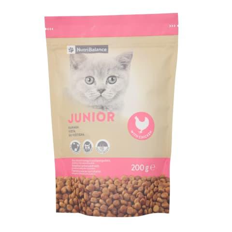 Kaķu barība Nutribalance Junior 200g